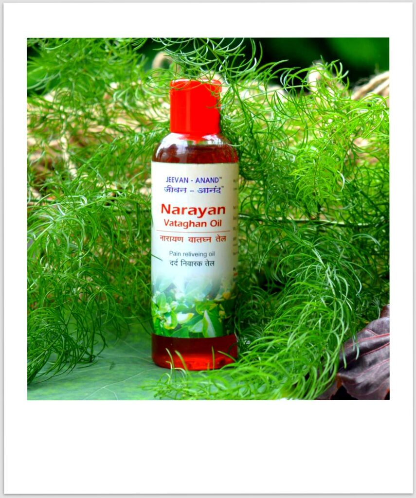 massage oil, muscle pain relief oil, jeevan anand, narayan pain relief oil
