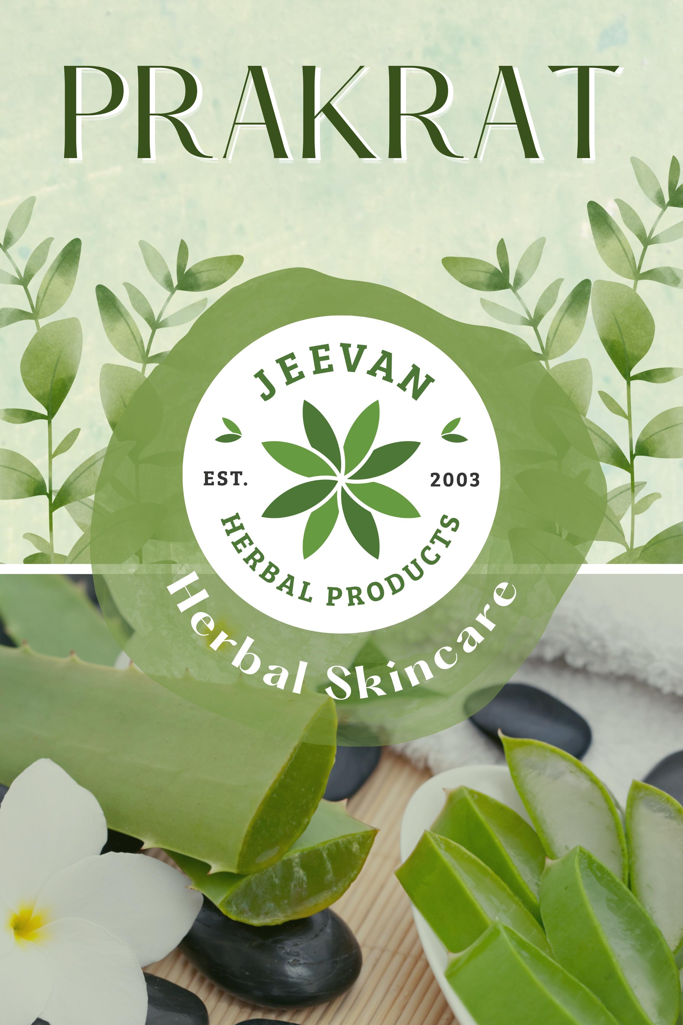 prakrat, herbal skincare, jeevan herbs, aloevera , aloevera gel, crack heels, jeevan herbal products