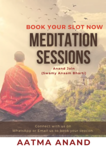 meditation, osho, anaam bharti, anand jain, meditation session, meditation class